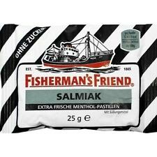 FISHERMANS FRIEND Salmiak ohne Zucker Pastillen 25 g