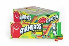 AirHeads Xtremes Sweetly Sour Candy Belts, Rainbow Berry, 3oz 12 ct
