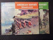 1967 AMERICAN HISTORY Illustrated LOT of 3 FN+ Jan Feb Nov - Sherman N.C. Wyeth