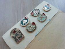 Set #17 of badges Kolskiy souvenir USSR Soviet Metal Pin Holiday of the North