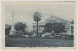 Argentinien Postkarte - Buenos Aires, Plaza Lavalle (A4)