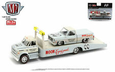 M2 39200 MJS03 1968 CHEVY C60 FLATBED & 1978 SILVERADO MOONEYES EQUIPPED 1/64