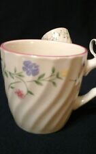 """Set of Two Johnson Brothers """"Summer Chintz"""" Mugs Made in England 3 3/8"""""""