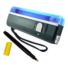 Ultra Violet Light Lamp Torch Flashlight Free UV Property Marker Pen Security