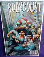 ONLY 1 ON EBAY! BODYCOUNT #3 NEWSSTAND RARE LOW DISTRIBUTION TMNT IMAGE 1996 🔥