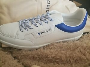 mens shoes size 9.5 louis vuitton white brand new without box