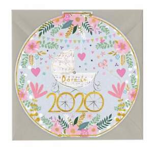 Whistlefish Greeting Card - Born in 2020