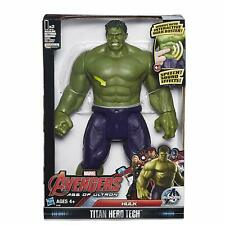 Marvel Avengers Hulk Action Figure Titan Tech Interactive Talking Hasbro Toy