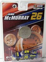 Jamie McMurray #26 NASCAR 1:64 Diecast Car and Collectible Medallion