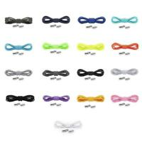 Quick No Tie Lazy Shoe Laces String Locking Elastic For Sneaker Shoelaces B Z7O6