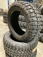 4 New Tires 305 55 20 Maxxis Bighorn MT 762 Mud 10 Ply BSW LT305/55R20 33 12.00