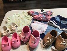 Vintage Cabbage Patch Kids Doll Clothes Accessories Shoes LOT