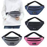 Bum Bag Fanny Pack Pouch Travel Festival Waist Belt Sports Holiday Wallet Useful