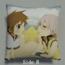 Kingdom Hearts Anime Manga two sides Pillow Cushion Case Cover 381 A