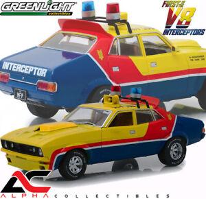 GREENLIGHT 13574 1:18 1974 FORD FALCON XB V8 INTERCEPTORS SEDAN MFP YELLOW