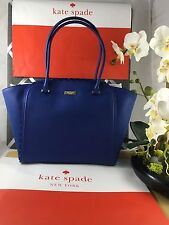 NWT Authentic KATE SPADE maximine maple court Collection hyacinth (450) BLUE