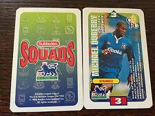 Subbuteo Squads 1996 Trading Card: Chelsea - MICHAEL DUBERRY