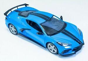 Maisto 1:18 Scale Diecast Model - 2020 Chevrolet Corvette Stingray Coupe C8 Blue