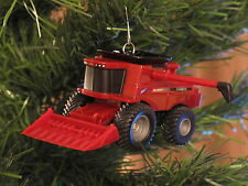 Case IH Combine Harvester Christmas Tree Ornament