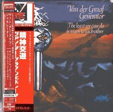 VAN DER GRAAF GENERATOR-THE LEAST WE...-JAPAN MINI LP PLATINUM SHM-CD Ltd/Ed H53