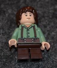Frodo Baggins in Green ~ Hobbit Minifigure ~ Lord of the Rings ~  Lego  ~ NEW ~