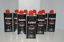 6 x Original Zippo premium Lighter Fuel Fluid Petrol 125ml Refill