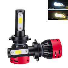 Pair CREE H7 LED HEADLIGHT 72W 8000LM COB FOG LIGHT BULB HIGH BEAM KIT 4300K
