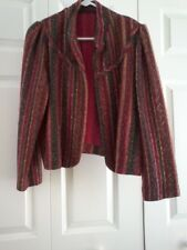 Vintage Women's 1970's Nubby Texture Cropped Joray Jacket Size Small