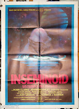 manifesto 2F originale INSEMINOID Robin Clarke, Jennifer Ashley 1982 ALIEN...