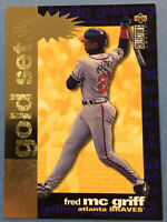 1996 Collector's Choice Crash the Game Gold Exchange #CR2 FRED MCGRIFF (Braves)