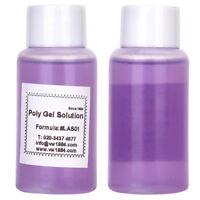 New 30ML Poly Gel Acrylic Gel Slip Solution UV Builder Gel Soak Off Nail Liquid