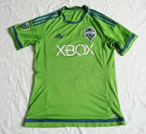 SEATTLE SOUNDERS FC Adidas Home Shirt 2015/17 (M)