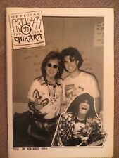 KISS: NUM.12 !!!: OFFICIAL FAN CLUB CHIKARA (GERMANY FANZINE) 1994