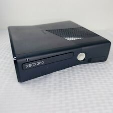 Microsoft Xbox 360 S Slim Black Console Only Model 1439 No Hard Drive Tested
