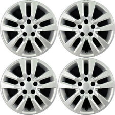 New Set Of 4, 16 Inch Silver Aftermarket Wheel Covers Hubcaps for 2013-14 Altima