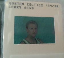 LARRY BIRD 1989-90 TV MEDIA SLIDE  NBA BASKETBALL  BOSTON CELTICS