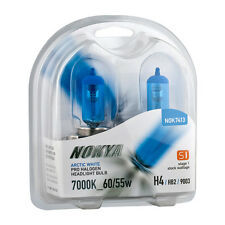 Nokya Arctic White Pro Halogen Headlight Bulbs 9003/H4/HB2 60/55w 7000K Stage 1
