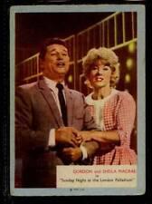 (Gg302-348) A & BC Gum, Who-Z-At-Star?, #49 Gordon & Sheila Macrae 1958 G-VG