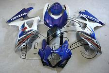 CARENE ABS SUZUKI GSX R 1000 2007-2008 07 08 DESIGN BLUE - STAMPO AD INIEZIONE
