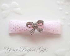 NEW 10 BOW Rhinestone Crystal Wedding Invitation Buckle