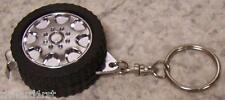 Auto Tire and Wheel Key Ring & Tape Measure combo NEW