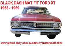 DASH MAT, DASHMAT FORD FALCON XT 1968, BLACK