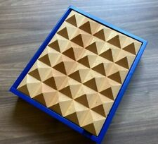 Pyramid Key Box Blue Henrik Ilfeldt Korridor Danish Design H: 260 D 78 W: 220 MM