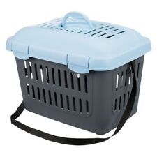 Transport Box Cats Dogs Small Pets Carrier Carry Handle Ventilation Holes Door