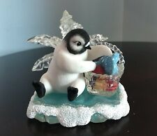 Vintage Hamilton Beach Blanket Picnic Chillin  Sun Collection Penguin Figurine