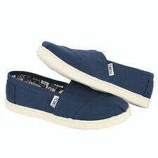 Toms Youth Classic 12001C13 Navy Kids US size 3, 21.4 CM