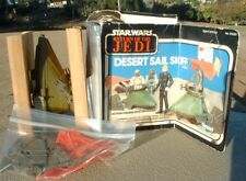 NICE 1983 Desert Sail Skiff Vehicle w/BOX &INSERT Mini-Rig ROTJ Vintage Star War