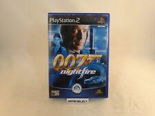 JAMES BOND 007 NIGHTFIRE AGENTE SONY PS2 PLAYSTATION 2 PAL ITA ITALIANO COMPLETO