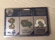 Disney 30th Anniversary Pin Limited Edition Week 8 Up Alice in Wonderland Marvel