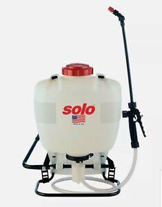 Solo 425 4-Gallon Professional Piston Backpack Sprayer, Wide Pressure Range u...